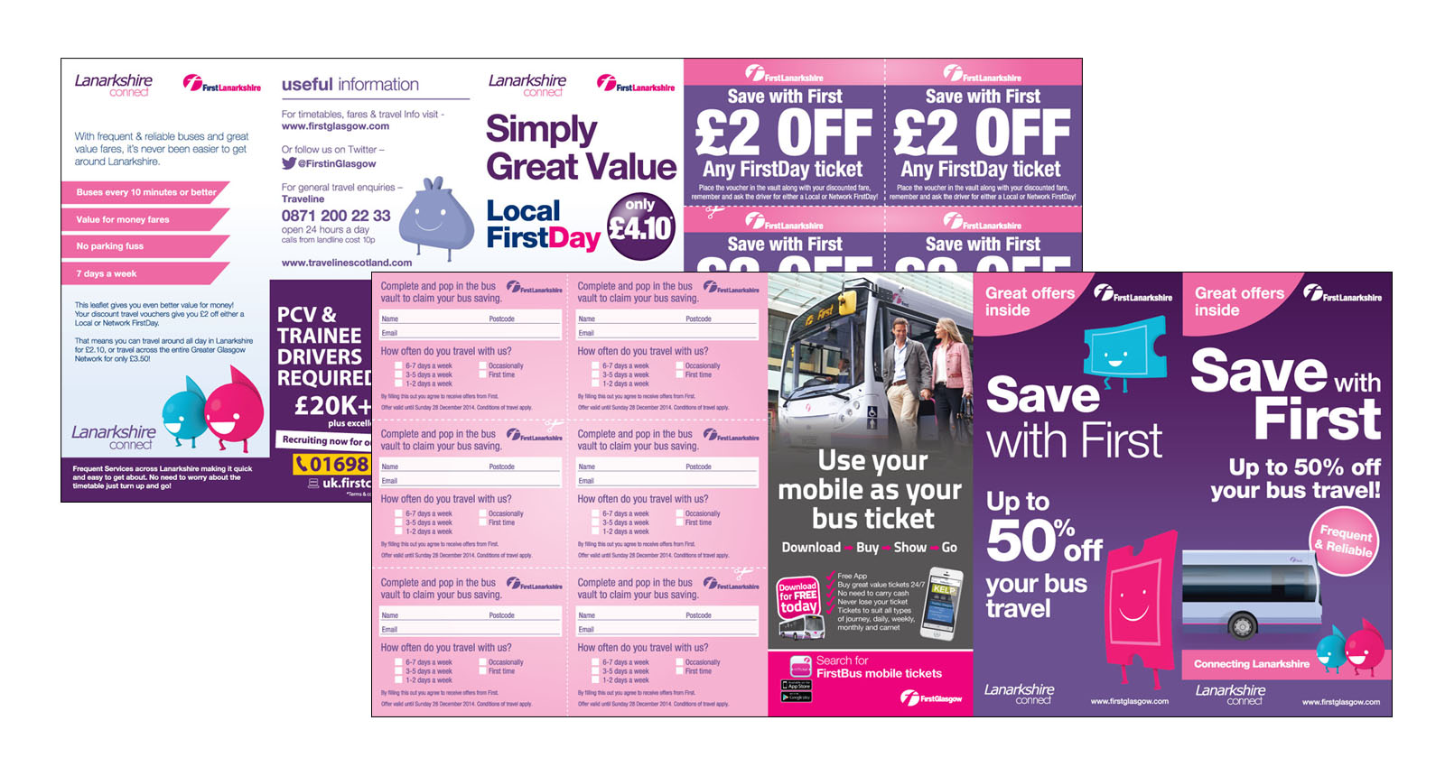 Lanarkshire Connect leaflet