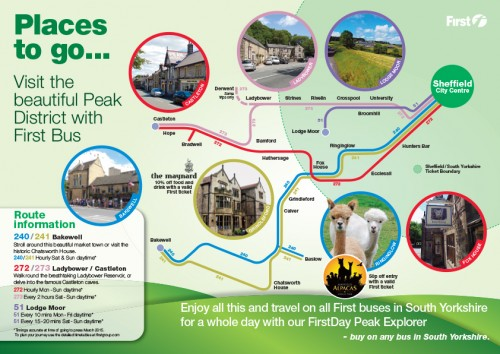Loads of places to visit in the Peak District