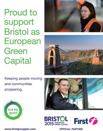 Bristol's going green for 2-15